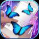 Butterfly Flying on Screen: Lovely Gif App by Virtual Art 4Fun