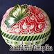 Beautiful Fruit Carving Idea by siojan