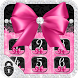 Pink Rose Black Lace Locker by ChickenAnt Themes