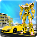 Flying Car Transformation Robot Car Wars Superhero by crushiz