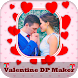 Love DP Maker 2018: Valentine DP Maker 2018 by Frame Factory Studio
