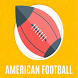 American Football Greetings by The Smart Card Shop