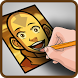 How To Draw - Aang Avatar by Marko Top