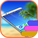 Beach Theme and Launcher by Theme land