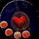 golden clock love theme luxurious wallpaper by Rose theme