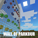 Parkour wall map for Minecraft by candy chicken
