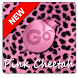 Pink Cheetah GO Keyboard Theme by MJRAndroid