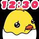 Clock Widget Baby Chick & Egg by peso.apps.pub.arts