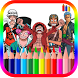 Coloring Book For One Piece by BLGSLDEV