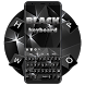 Classic Black Keyboard by Echo Keyboard Theme