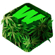 Weed Keyboard Themes by Premium Keyboard Themes