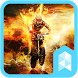 Fire Motorcycle Launcher theme by SK techx for themes