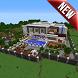 Advanced Mansion MCPE map by Slobodiak Studio