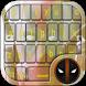 Deadpol keyboard themes free by SMCHFPRO