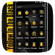 Golden Black Business Style by Launcher phone theme