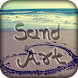 Draw On Sand : Name Art On Sand by World Dex