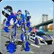 Police Car Transform Robot Car Crime City Cop Game by Roadster Inc - 3D Games Action & Simulation