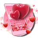 Red Hearts Love Keyboard Theme
