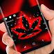 Neon Weed Keyboard Drug Herb by Gummi Sour Hearts Studio