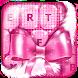 Keyboard Theme Pink Glitter by Girls Fashion Apps