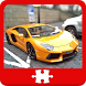 Racing cars Puzzles by PerfectApps.