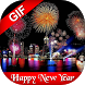 Happy New Year GIF 2018 by Marvella Media