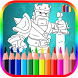 Coloring Book For Clash Of Clans by BLGSLDEV