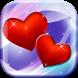 Cute Hearts Live Wallpaper HD by Cuteness Inc.