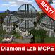 Diamond Lab PE Map for Minecraft MCPE by BestMapsAddons