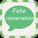 Fake Conversation For Whatsapp by skarte app
