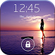 Screen Lock Sunset Wallpaper by accelinke