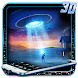 3D Neon Alien UFO Theme by no.1 3D Theme
