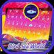 Bird Sea World Theme&Emoji Keyboard by Cool Keyboard Theme Design