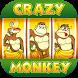 Crazy Monkey Free Casino Slots by Retro Casino Free Slots