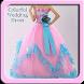 Colorful Wedding Dress Design by Nerubian