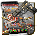 Bullet Gun Fire War Launcher Theme by Luxury Mobile Themes