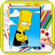 How To Draw Simpsons Characters by kids color