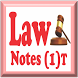 Law Notes - 1 (Introductory) by Desmond Choi