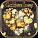 Golden Love Diamond Theme by Enjoy the free theme