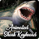 Angry Shark Attack - Hungry Shark Keyboard Theme by Clash of Keyboard Themes