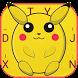 Chubby Pikachu Theme&Emoji Keyboard by Music Emoji Keyboard Theme