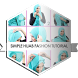 Simple Hijab Fashion Tutorial by Ghaztee Apps
