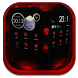 Next Launcher Theme MagicRed by Apk Creative
