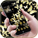 Gold Butterfly Glitter theme by Leotheme MT Studio