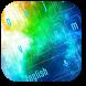 Colorful Galaxy Keyboard Theme by Designer Superman