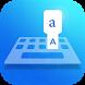 Easy Type Albanian Keyboard by Sky Blue Theme Keyboard