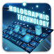 Holographic Technology Keyboard by Echo Keyboard Theme