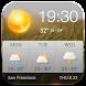 Weather App Widget with Calendar