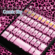 Pink Cheetah Eva Keyboard -Gif by Eva Awesome Theme