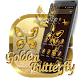 Golden Butterfly Luxury Theme by Launcher Fantasy
